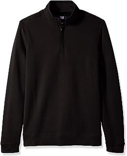 92edb5064803 Cutter   Buck Men s Big Tall Douglas Quarter-Zip Sweater at Amazon ...