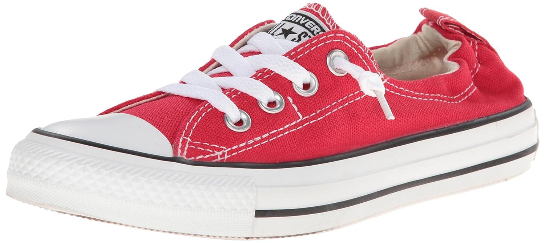 Converse Women's Shoreline Slip on Sneaker B008L2GSM8 11 B(M) US Varsity Red