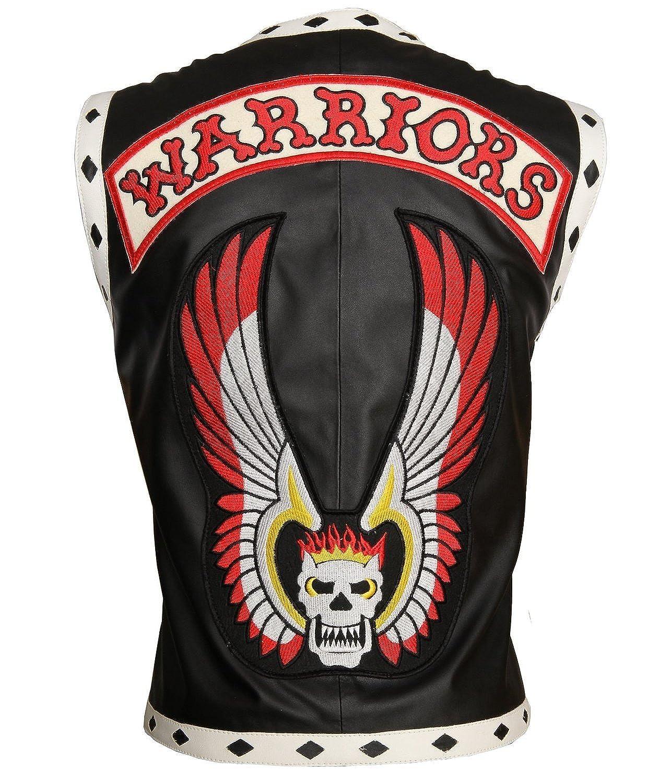 ZR STYLE The Warriors Movie Biker Celebrity leather Vest