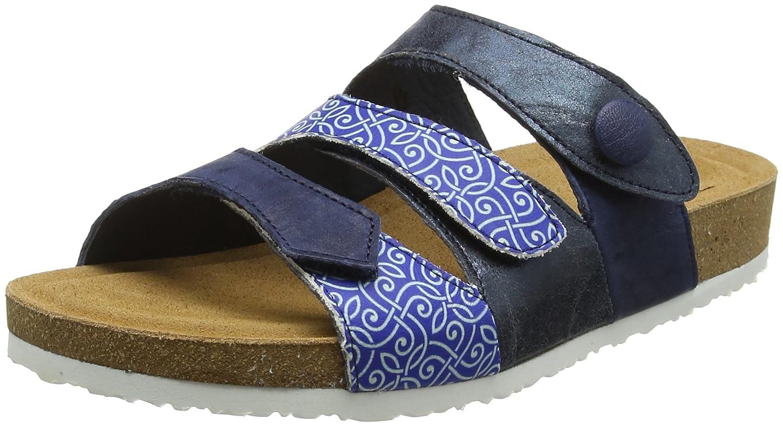 Blau (Capri Kombi 90) Think  Damen Blauza_282323 Pantoletten