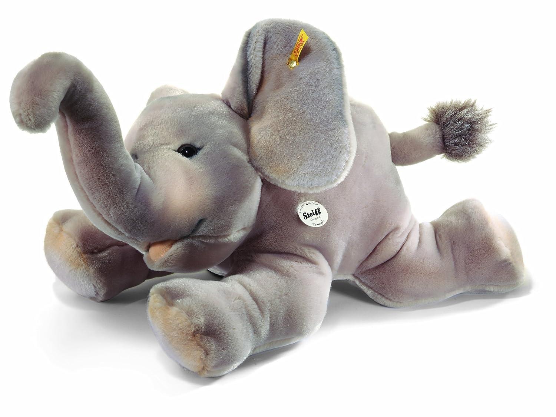 Steiff - 64364 - Peluche - Éléphant Trampili - gris