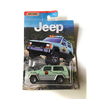 MB Serin Matchbox Jeep Cherokee 2020 Green National Parks: Toys & Games