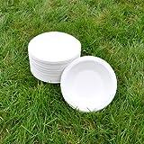 Sugarcane Bowl 16cm 350ml (50pack) BIOPAC Round Natural Alternative For Plastic P107 (50)