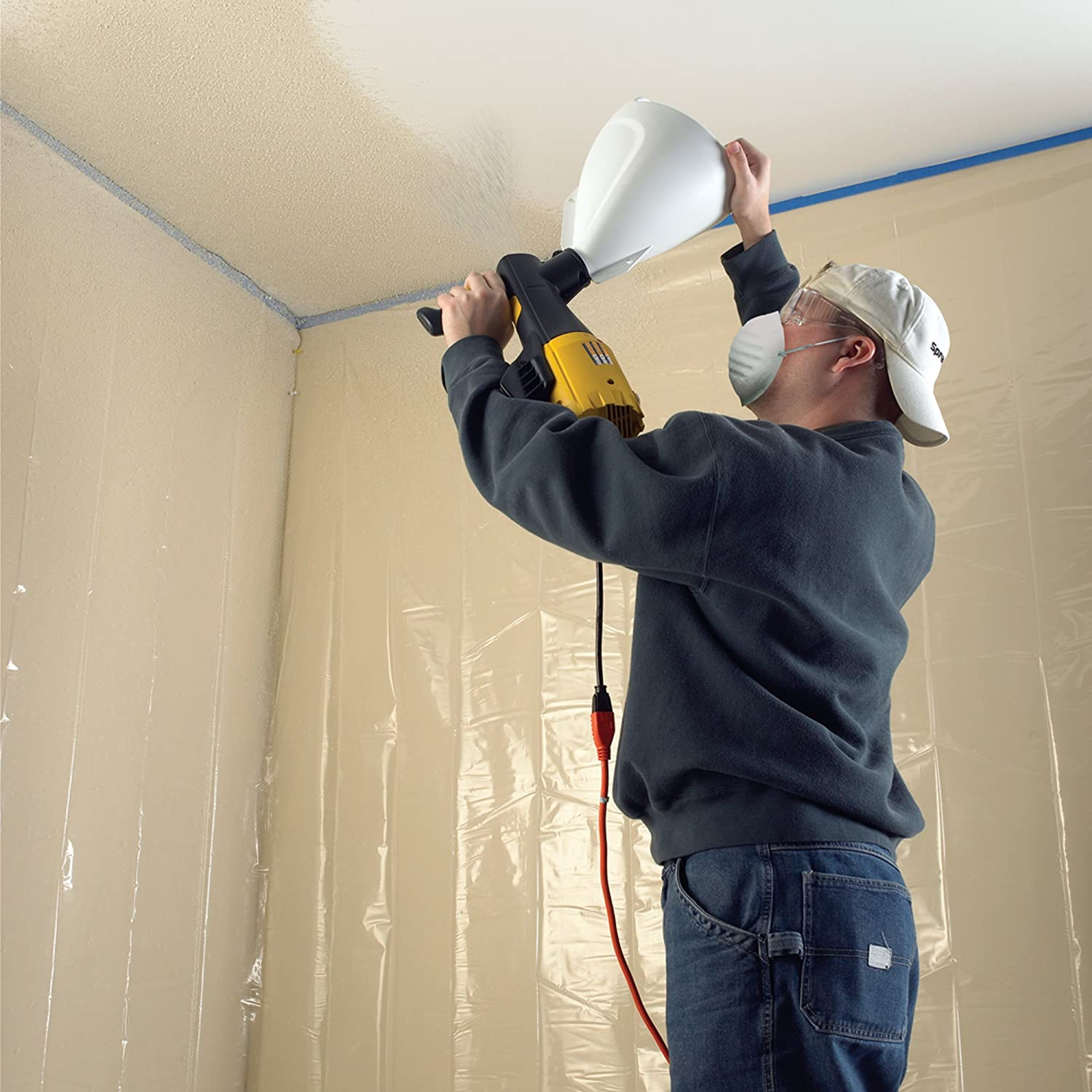 Airless Sprayer Ceiling Or Walls First Www Energywarden Net