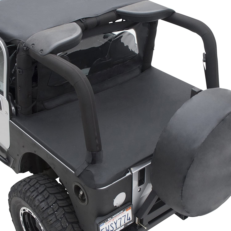 Smittybilt 761035 Tonneau Cover for 1997-2006 Jeep Wrangler TJ Black Diamond
