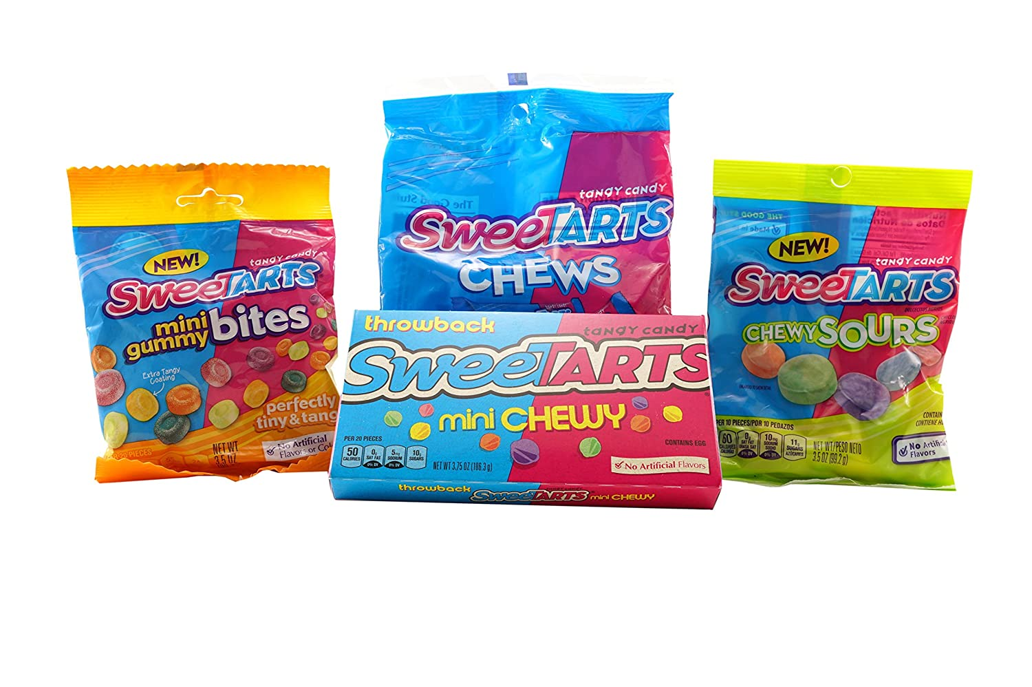 Amazon com : SweetTarts Candy Variety Pack (Fruit, Cherry Punch
