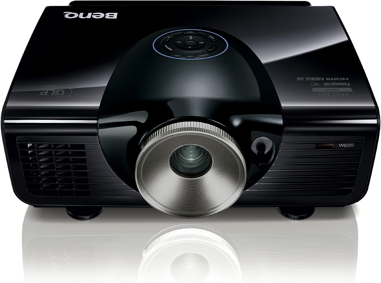 Benq W 6000 Dlp Projektor Kontrast 50000 1 2500 Ansi Lumen Full Hd 1920 X 1080 Pixel Heimkino Tv Video