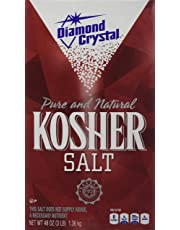 Diamond Crystal Pure & Natural Kosher Salt 1.36kg