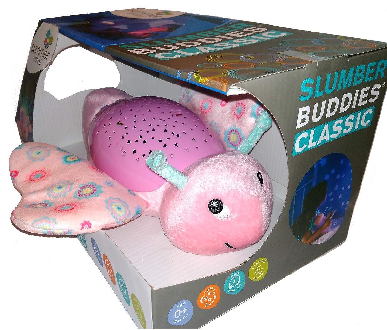 Funky Planet Adecuado para beb/és reci/én nacidos Proyector para beb/és con melod/ías Elefante Felpa Luz nocturna Sue/ño dormido projector butterfly