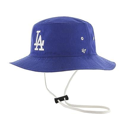 buy popular 5f78c 8f5c1 MLB Los Angeles Dodgers Kirby Bucket Hat, One Size, Royal ...