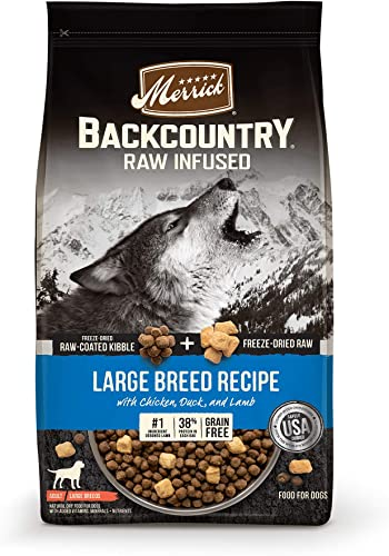 Merrick Backcountry Grain Free Raw Infused Large Breed Dry Dog Food