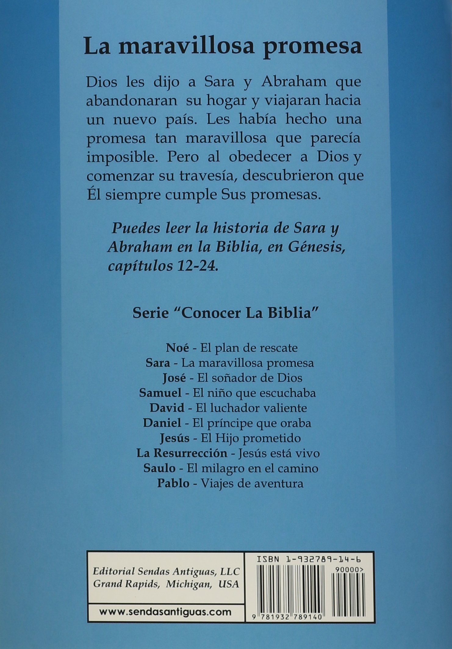 Sara y Abraham/Sara and Abraham: La Maravillosa Promesa/the ...