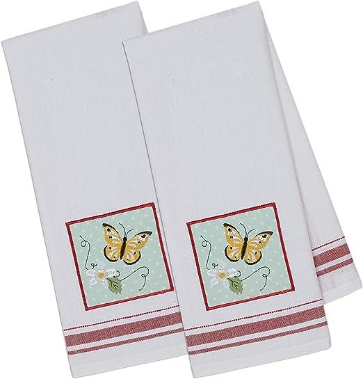 12 o 24 Toallas De Cocina Gran Tamaño 6 9 paquete De 3 100/% algodón toalla de té conjuntos