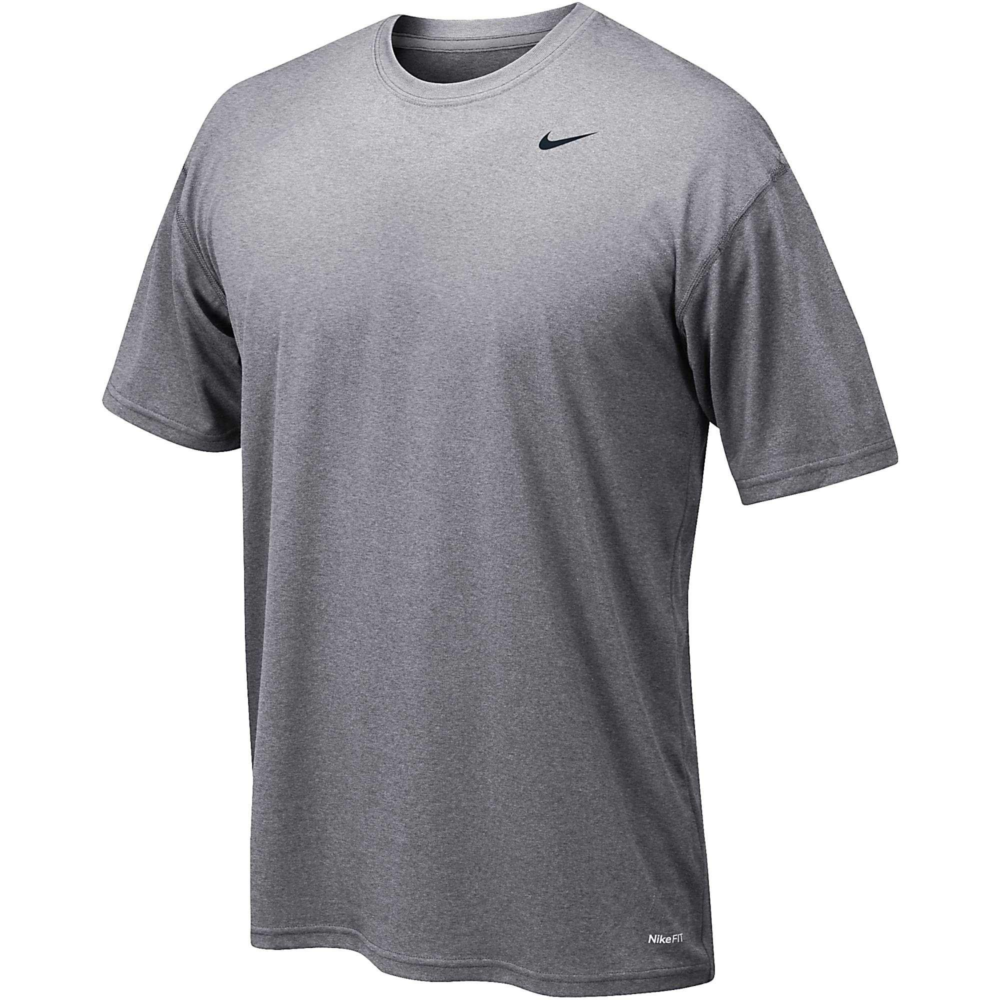 Nike 384407 Legend Dri-Fit Short Sleeve Tee - Grey, Large by Nike