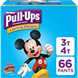 Pull-Ups Learning Designs Training Pants for Boys, 3T-4T (32-40 lbs.), 66 Count, Toddler Potty Training Underwear, Packaging May Vary