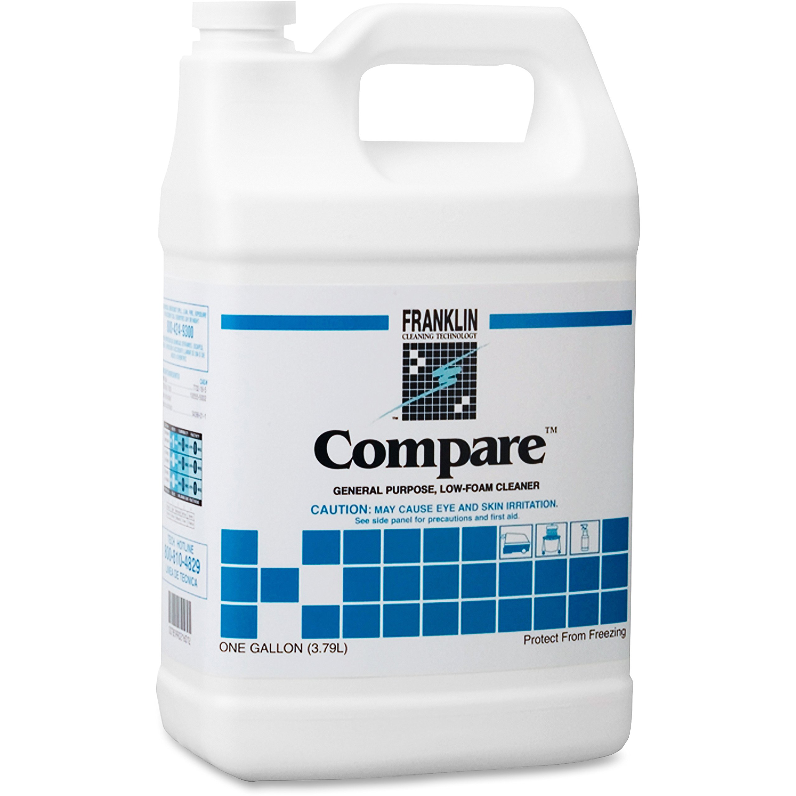 Franklin Cleaning Technology F216022CT Compare Floor Cleaner Low Foam 5gal 4/CT WEGN