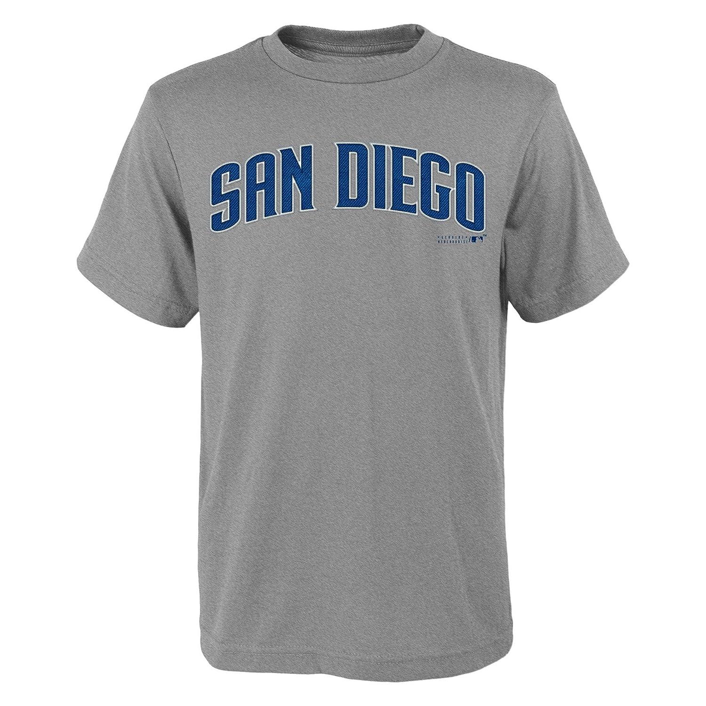 良質  MLB San Tシャツ、スモール( Diego PadresユースBoys 8 – 20 – Wordmark Tシャツ 20、スモール( 8 )、ヘザーグレー B019PED2X8, WebShop of メディング:39e47f29 --- a0267596.xsph.ru