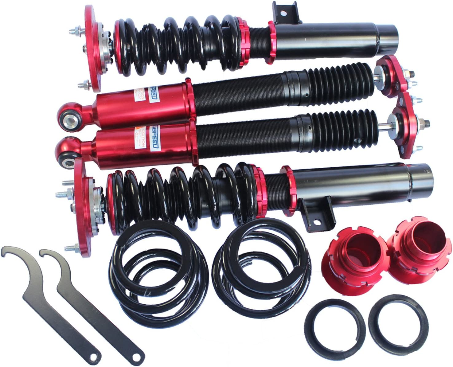 JDMSPEED New Set Coilover Suspension Kit For BMW E46 3 Series Absorber Strut Shock