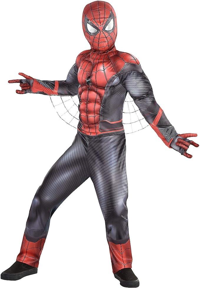 Amazon.com: Party City Spider-Man: Disfraz de Spider-Man ...