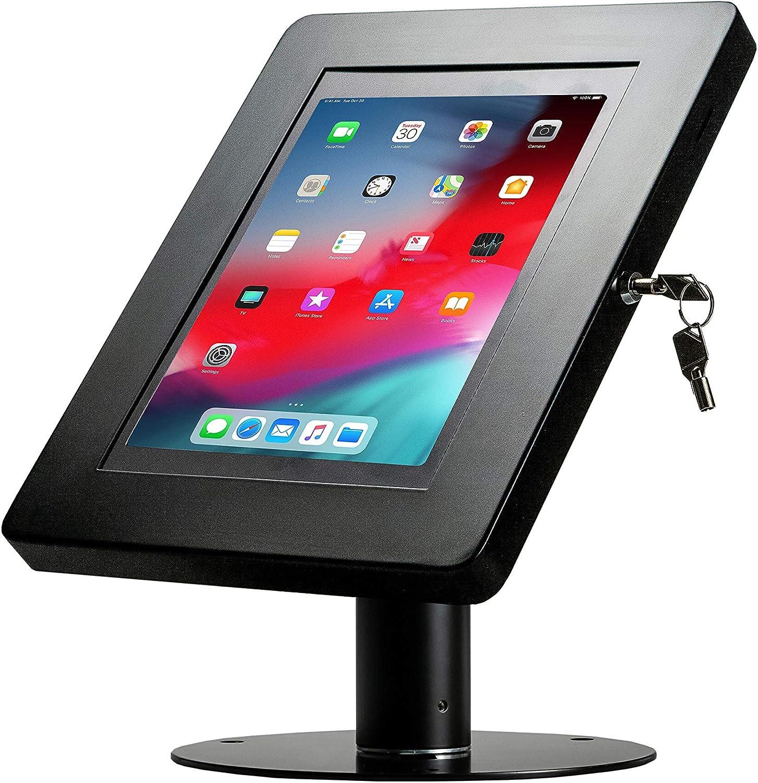 "CTA Digital: Hyperflex Security Kiosk Stand for for iPad 10.2-Inch (7th Gen.), 11-Inch iPad Pro/iPad Air 3/iPad Gen. 5-6/iPad Pro 10.5/Galaxy Tab A 9.7""& More, Black"
