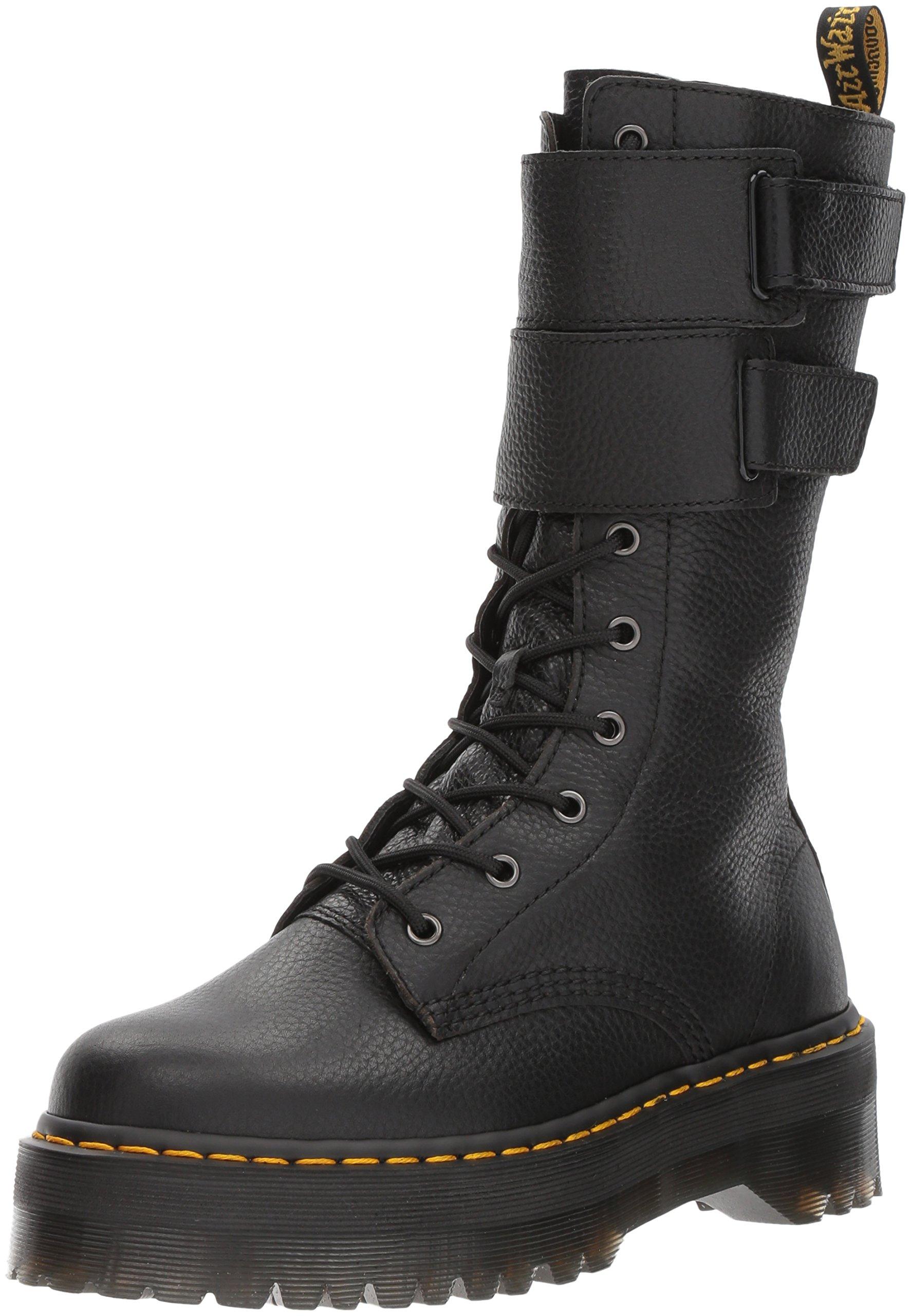 Dr. Martens Women's Jagger Fashion Boot, Black, 5 Medium UK (7 US) by Dr. Martens