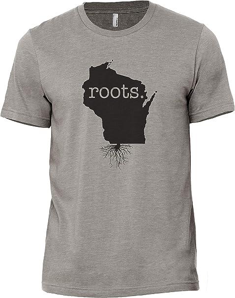 Tenacitee Mens Living in Arkansas Illinois Roots T-Shirt