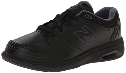 New Balance Women's WW813 Walking Shoe, Black, 5 B US