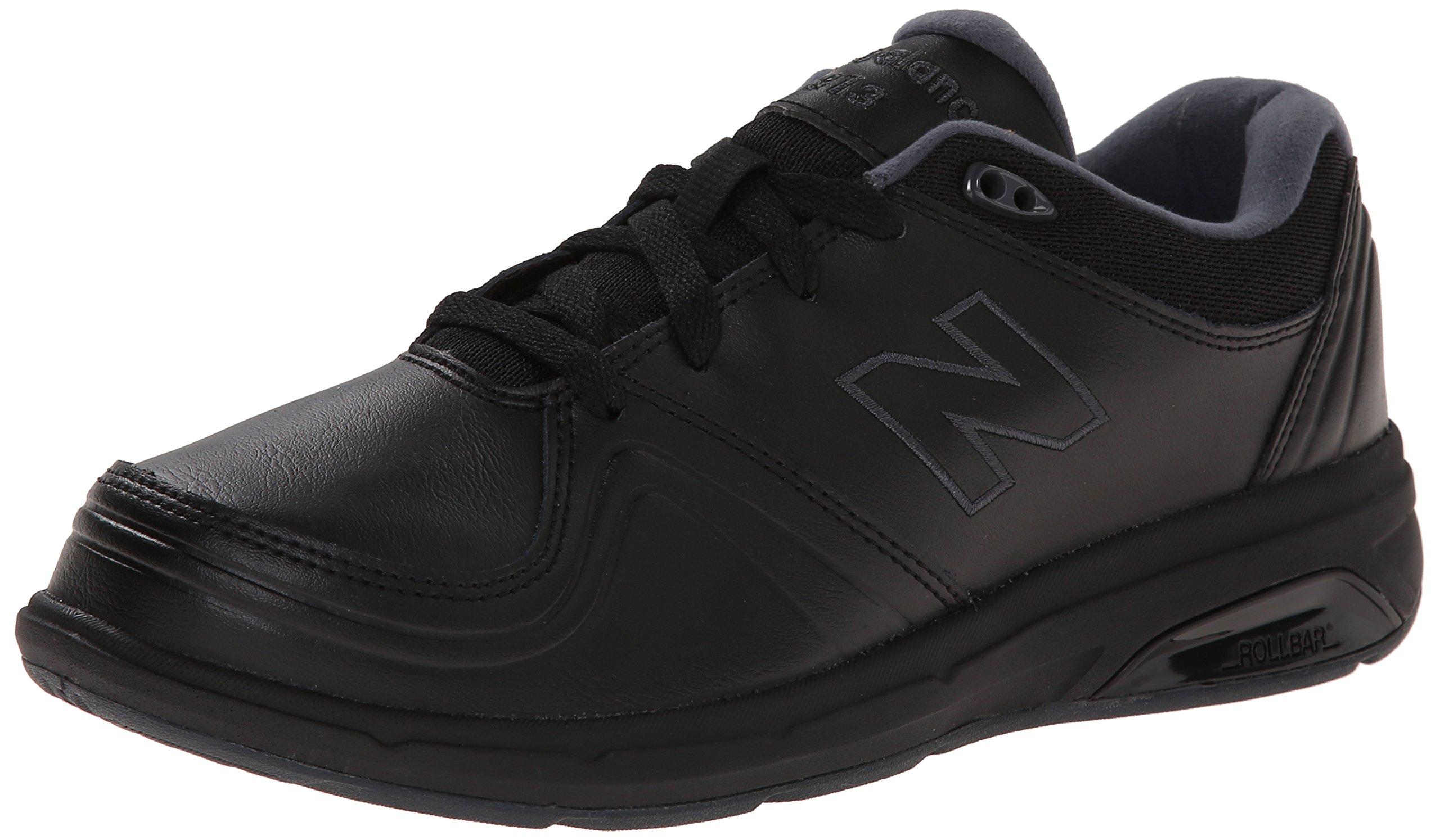 New Balance Women's WW813 Walking Shoe, Black, 8.5 2E US