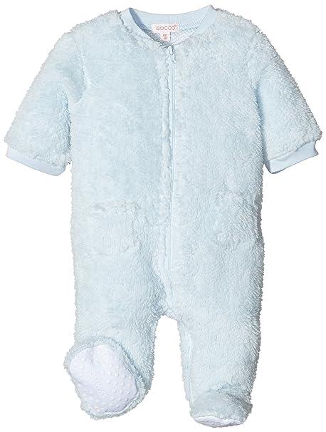 Gocco Pelele Cremallera, Pijama para Bebés, Celeste BEBÉ, 1-3 Meses: Amazon.es: Ropa y accesorios