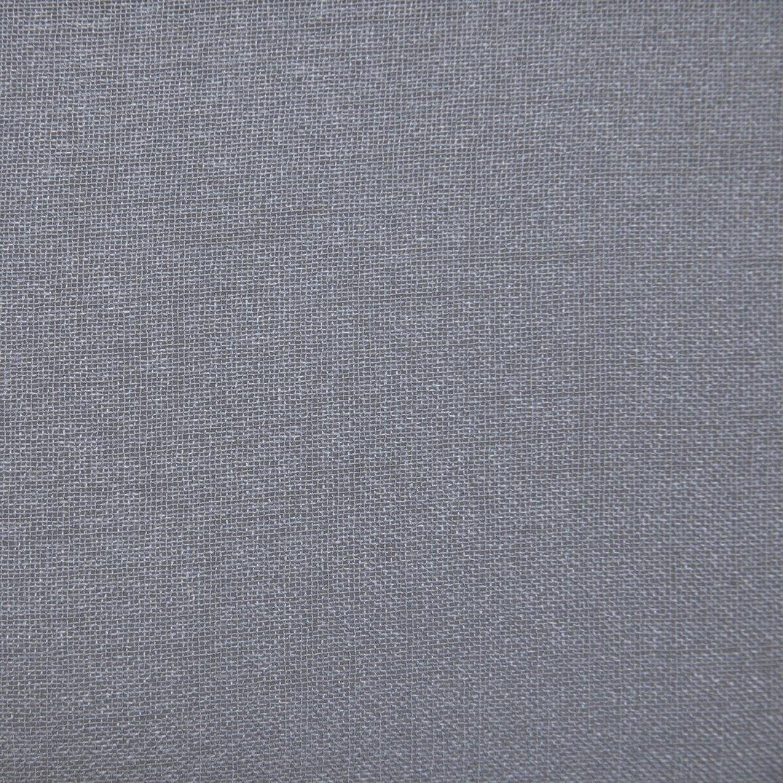 Manor Luxe Morning Mist Sheer Rod Pocket Window Curtain Single Panel 52 x 84