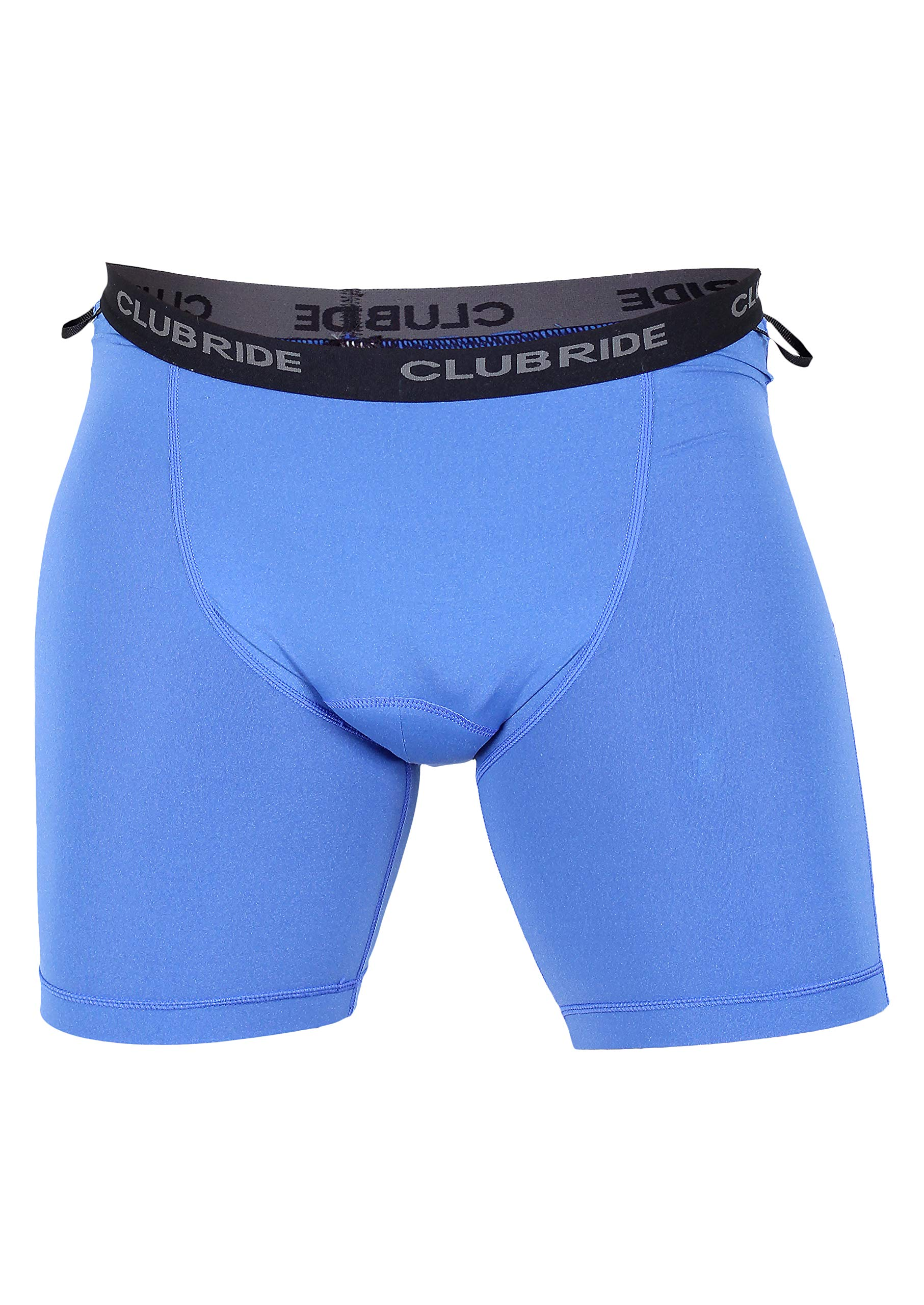 Club Ride Apparel Gunslinger 2 Hour Men's Cycling Shorts - Chamois Liner Small - Royal Blue