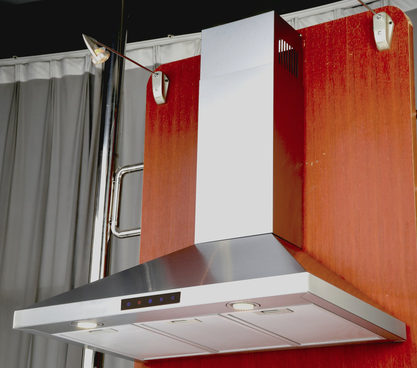 Kitchen Bath Collection STL75-LED Stainless Steel Wall-Mounted Kitchen Range Hood with High-End LED Lights, 30'' by Kitchen Bath Collection (Image #2)