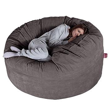 f14d835a5068 Lounge Pug® - Pinstripe Cord - CLOUDSAC - Huge Memory Foam GIANT Bean Bag  SOFA