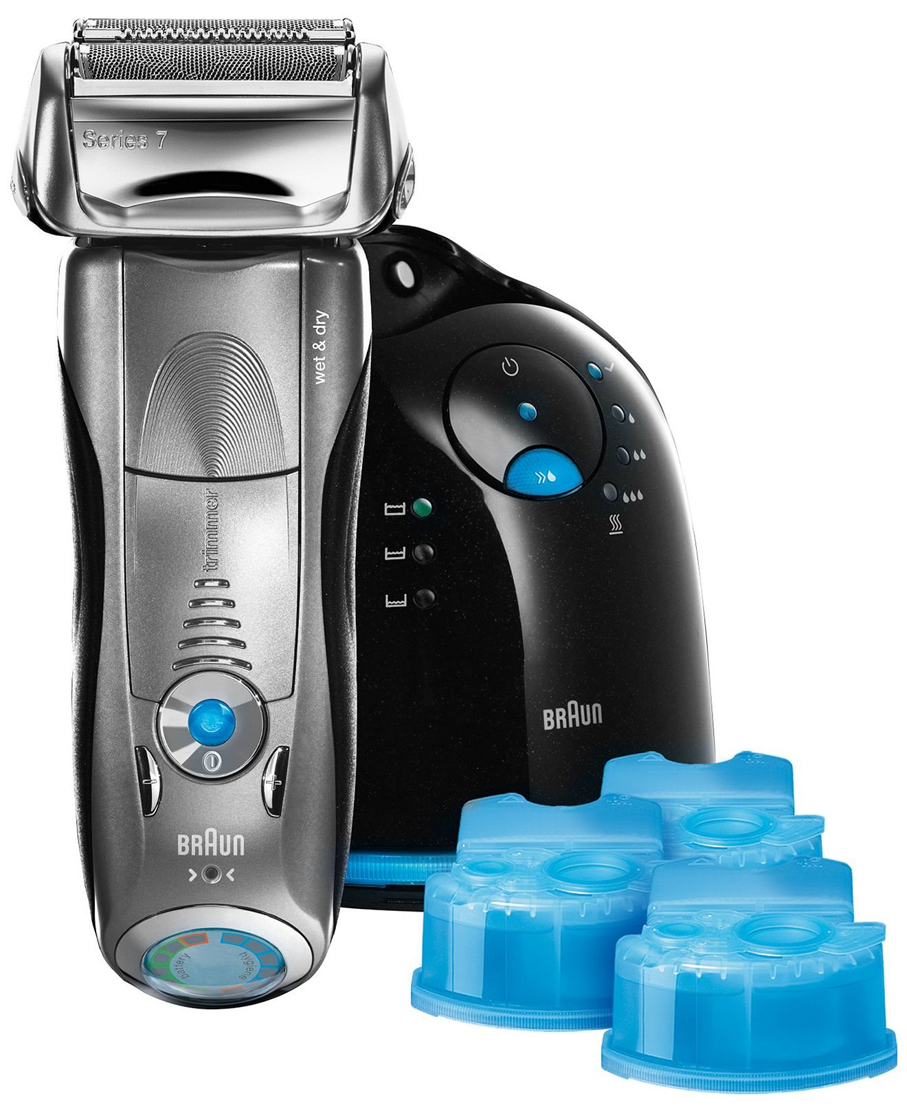 braun 799cc 6 series 7 wet dry shaver gosale price. Black Bedroom Furniture Sets. Home Design Ideas