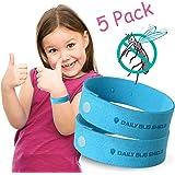 Apriller - Lot de 5 bracelets anti-moustiques naturels