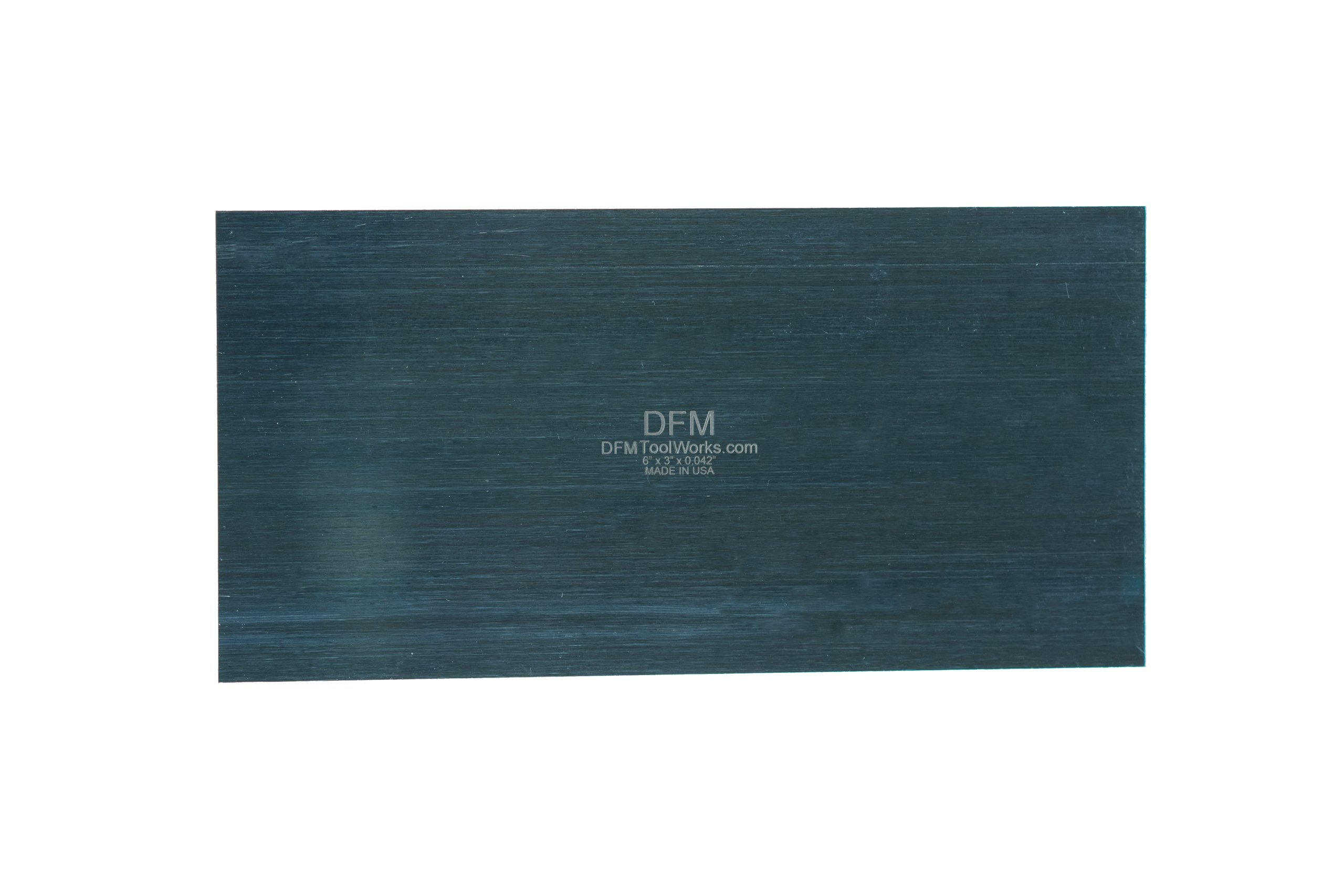 DFM Tool Works Blue Cabinet Scraper Rectangle Sets- MADE IN USA - Multiple Sizes (1, Thicker 0.042'' x 3'' x 6'')