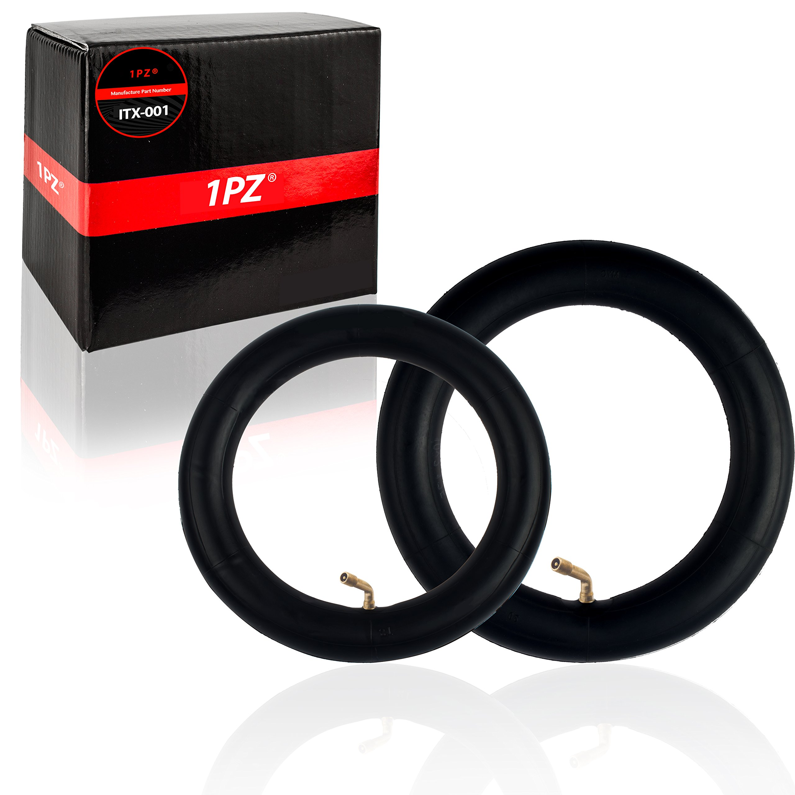 1PZ ITX-FR1 Set of 12'' and 10'' Inch Innertube with Bend Valves for E-bike Folding Electric Bicycles