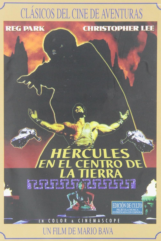 Hercules en el centro de la tierra [DVD]: Amazon.es: Reg Park, Christopher Lee, Mario Bava, Franco Prosperi, Achile Piazzi: Cine y Series TV