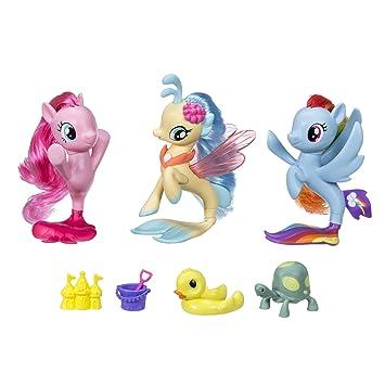 amazon my little pony the movie seapony collection set おもちゃ