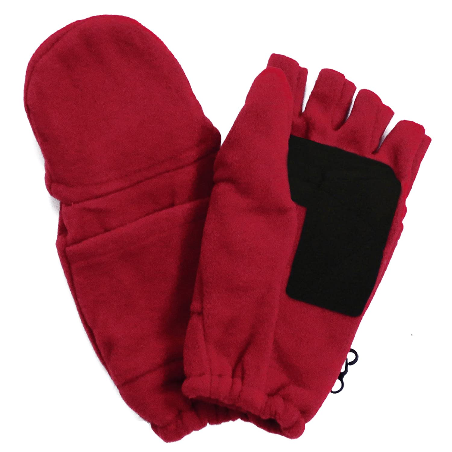 Mens gloves with mitten flap - Amazon Com Unisex Ski Skate Convertible Fingerless Fold Over Half Gloves Mittens Black Clothing