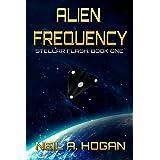 Alien Frequency: Stellar Flash Book One (Stellar Flash Space Opera Time Travel Series 1)
