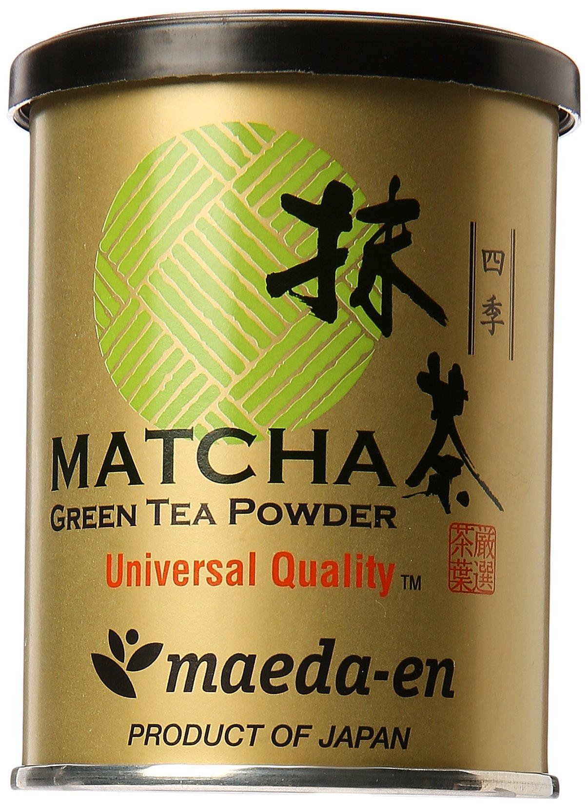 Maeda-En - Shiki Matcha (green tea powder) 1.0 Oz (Pack of 4)