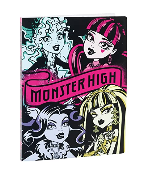 Monster High Carpeta poliprop 20 fundas