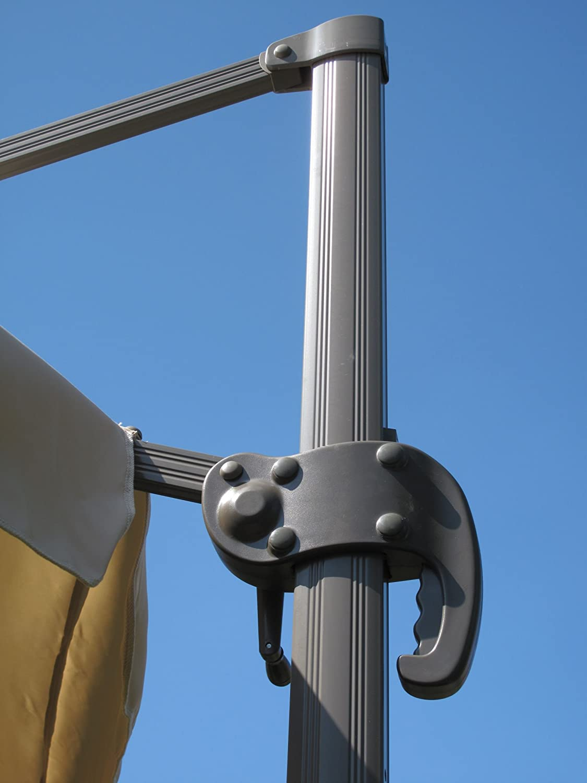Amazon.de: Alu Ampelschirm / Sonnenschirm champanger 3, 5m-250gr/m² ...