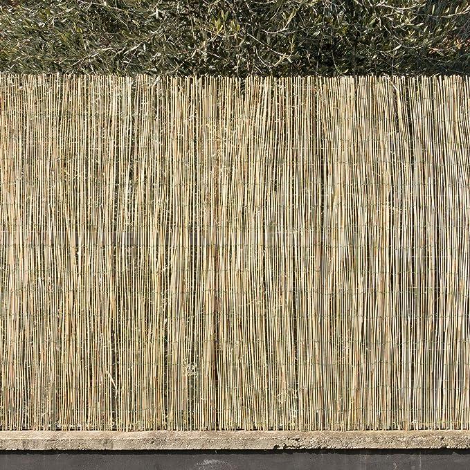60 opinioni per STI Arella canniccio stuoia cannette rilegate Ombra Recinzione Esterno 150x300cm