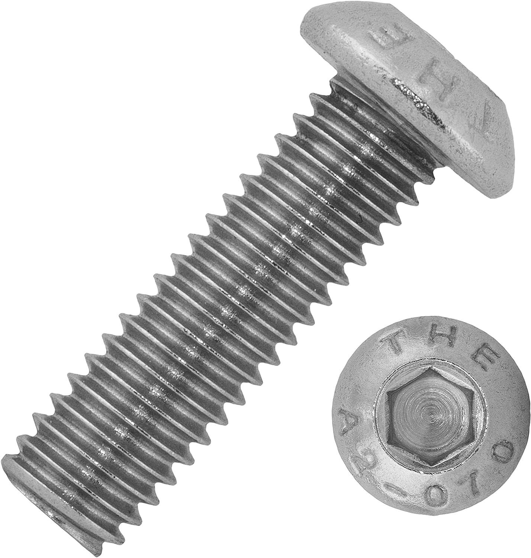 Linsenschrauben   ISO 7380 M3x4//4 mm aus Edelstahl A2 Rundkopfschrauben 10 St/ück ISK Schrauben von MESAROS/® Linsenkopfschrauben mit Innensechskant