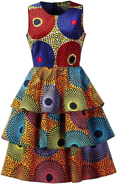 Amazon.com: HongyuAmy - Vestido de mujer con estampado ...