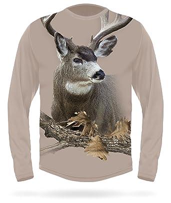 996da739850e Mule Deer Shirt - Premium 3D T-Shirts with Deers - Men s Camouflage ...