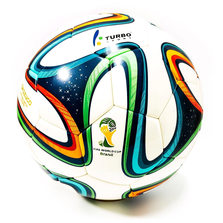ターボスポーツFIFA 2014 Brazucaサッカーボールレプリカホワイト B0798W5MNM