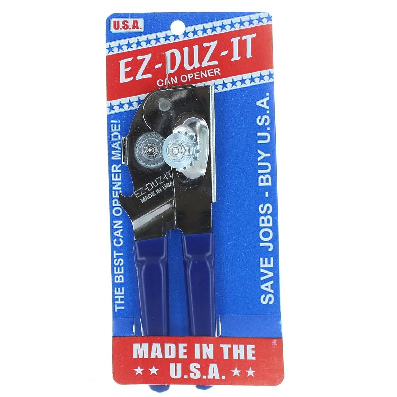 EZ-DUZ-IT Deluxe Can Opener with Black Grips Harold Import Company Inc. 3028